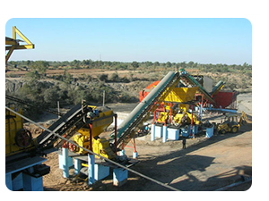 Crushing And Screening Plant Image from the original manufacturer in India